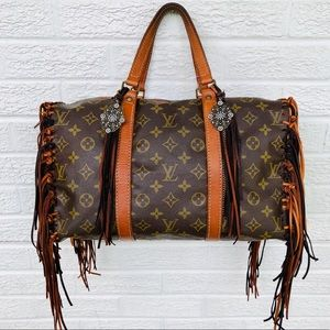 Custom Revamped Louis Vuitton Sac Souple 35